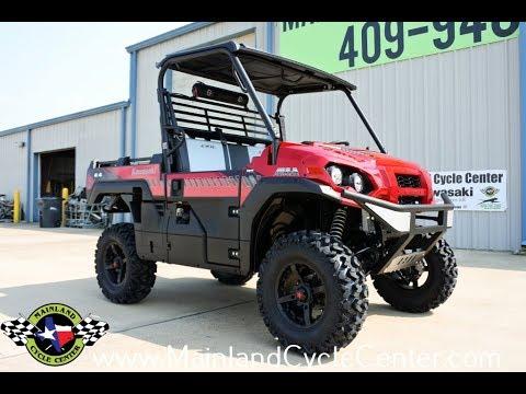 2018 Kawasaki Mule PRO-FXR in La Marque, Texas - Video 1
