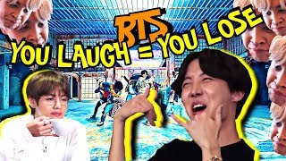"BTS ""You Laugh = You Lose"" Challenge [Ultimate Version]"