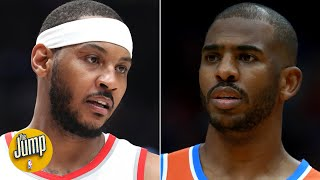 Carmelo and Chris Paul needed honesty from Daryl Morey about their trade – Marc J. Spears | The Jump