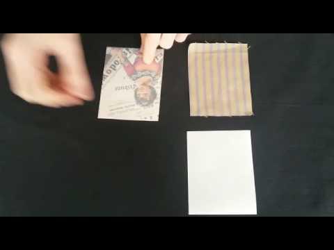 Anleitung Laminierfolie für Papier