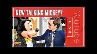 TALKING MICKEY MOUSE, MINNIE, & DONALD AT DISNEYLAND RESORT 2017