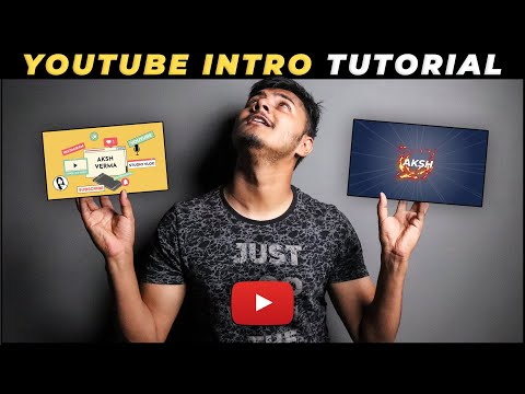 How To Make Intros For YouTube Videos (FREE & Easy)   YouTube Intro Maker 2021