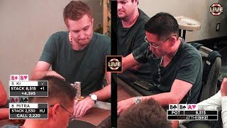 WHAT A FLOP! Cooler for Aces as Ki Flops Quads!!! ♠ Live at the Bike!
