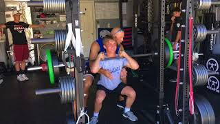 ME Front Squat Highlights: Training Hard In-Season July 2018