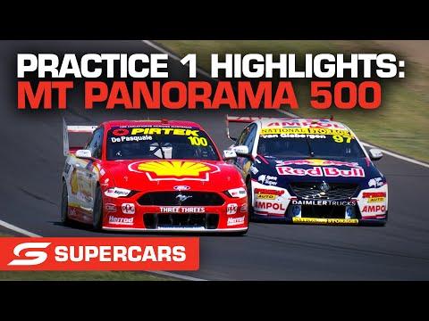 SUPERCARS 2021 Repco マウント・パノラマ500 プラクティス1のハイライト動画