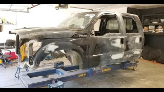 Rebuilding 2013 Ford F350 from Copart prt 6