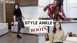 HOW TO STYLE ANKLE BOOTS FOR THE OFFICE