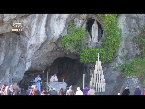 Messe de 10h à Lourdes du 24 avril 2021