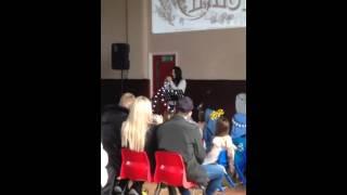 Karen McManus - O Holy Night - Singing at Paradox Church.