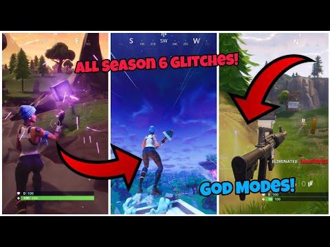 All Season 6 Working Glitches (Top 5) Fortnite Glitches Season 6 PS4/Xbox one 2018