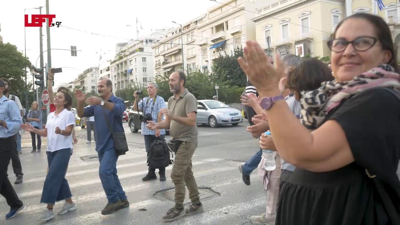 Ενάντια στην εισβολή των τουρκικών στρατευμάτων στην Συρία