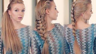 Три простые и красивые прически для длинных волос - Видео онлайн
