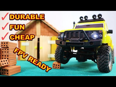 Is This the BEST Mini RC Crawler? - Hobby Plus URUAV 1/24 Scale CR 24 G-ARMOUR EDITION
