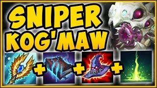 UNBEATABLE STRATEGY! FULL AP SNIPER KOG'MAW IS 100% UNFAIR! AP KOG'MAW SEASON 9! - League of Legends