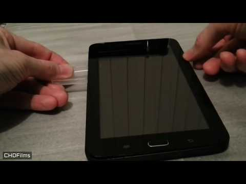 COMO TROCAR VISOR Touch Screen do  TABLET Samsung