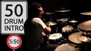 Vadrum Intro Medley (50 Drum Intros In 5:50!)