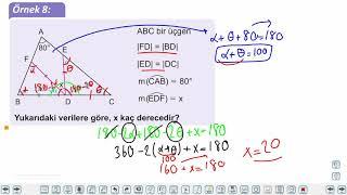 Eğitim Vadisi 9.Sınıf Matematik 23.Föy Üçgenler Konu Anlatım Videoları