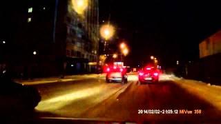 На Чехова водителю угрожает предметом, похожим на пистолет