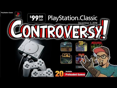 The PlayStation Classic Controversy! Open Source Emulator Rant!