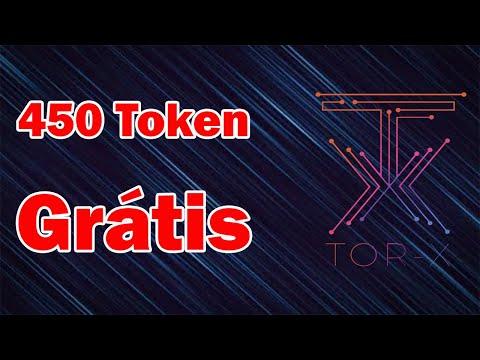 """Ganhe 450 token """"GRÁTIS"""" no Airdrop TOR-X Network. NÃO PRECISA INDICAR!"""