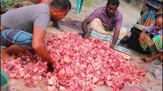 200 KG Beef, 50 KG Mutton Curry & Full Goat Roast For Groom - Traditional Bengali Marriage