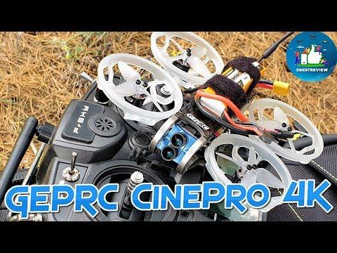 ✔ GEPRC CinePro 4K - Мой Фаворит Среди 4K Квадрокоптеров на Сентябрь 2019 !