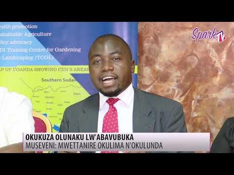 Pulezidenti Museveni akubirizza abavubuka okwettanira eby'obulimi