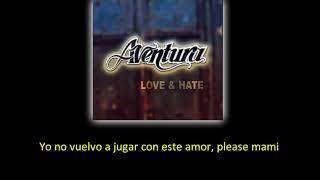 Aventura   I'm Sorry lyric   letra