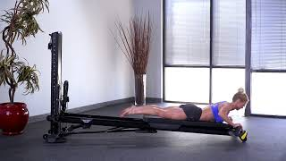 Back Extension with Press Bar