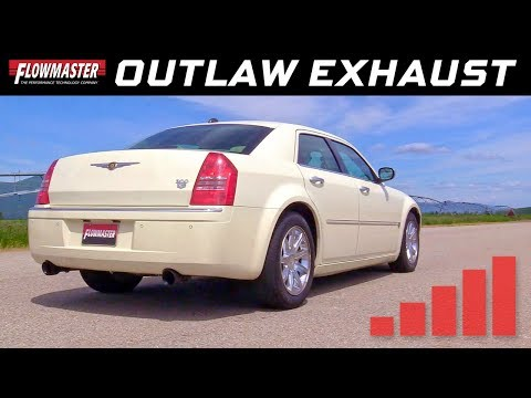 2005-10 Dodge Charger, Magnum, Chrysler 300C, 5.7L Hemi - Outlaw Cat-back Exhaust System