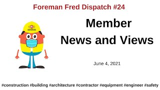 Dispatch 24 – Member News and Views