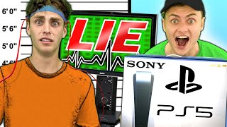 BAILEY STOLE MY PS5!! (LIE DETECTOR)