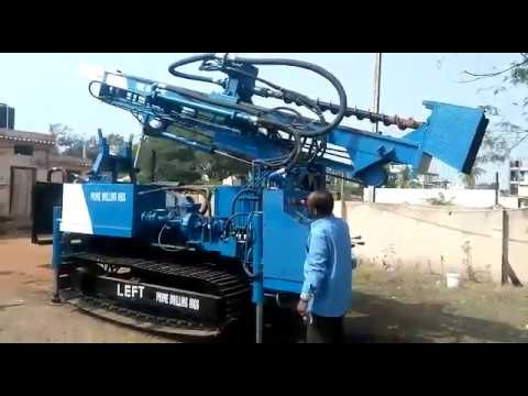 Crawler Blast Hole Underground Without Compressor Drill Rigs