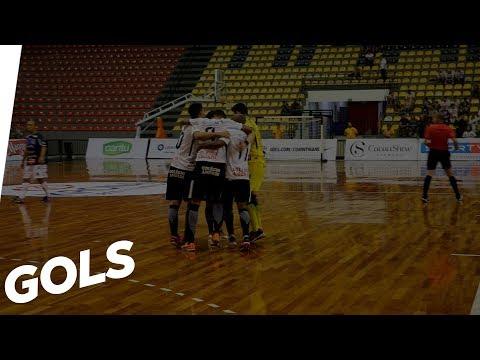 Confira os gols de Corinthians 4x3 Pato, pela Liga Nacional de Futsal 2018