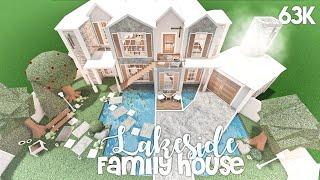 Lakeside Family House | Bloxburg Build