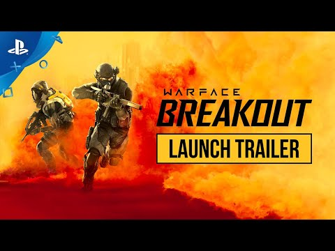 New Online PvP Shooter Warface: Breakout Available Today on PS4