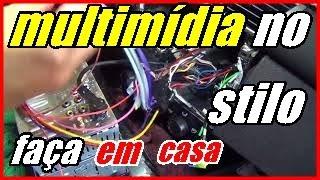 MULTIMÍDIA POSITRON SP8960NAV NO FIAT STILO/INSTALAÇÃO FAÇA VOCÊ MESMO/SEGUNDA PARTE (2/2)
