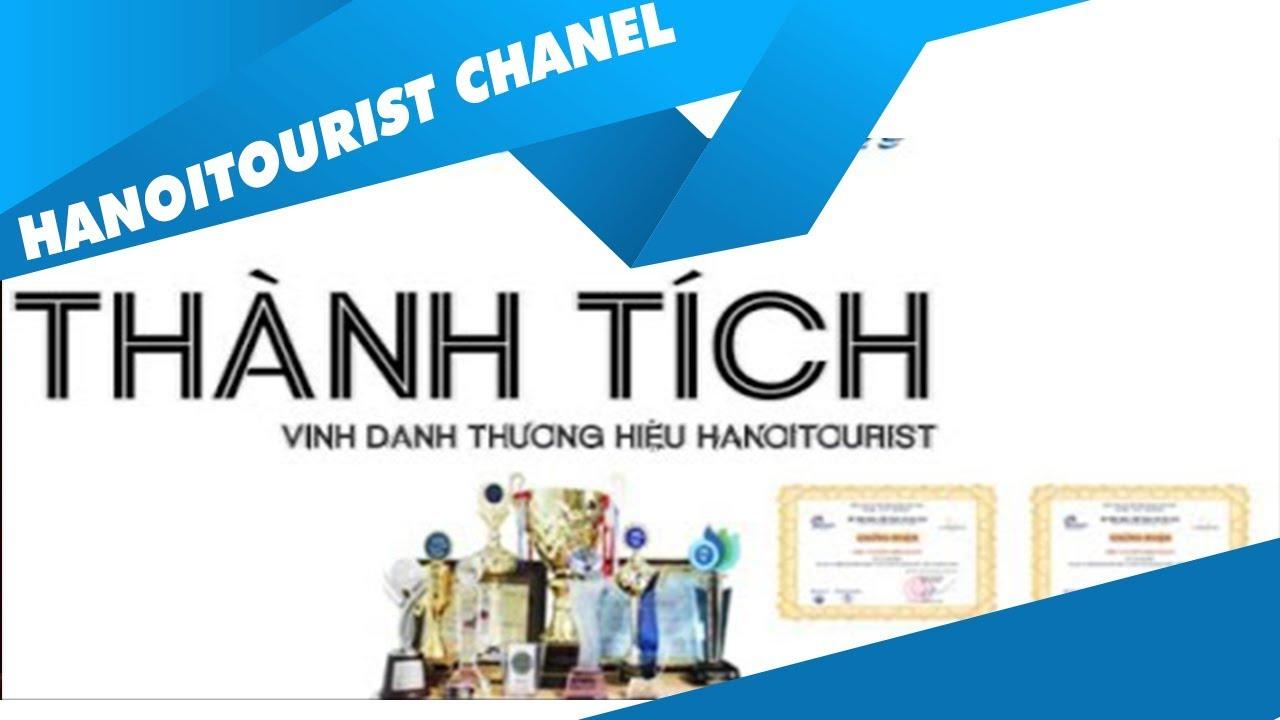 Vinh danh thương hiệu Hanoitourist