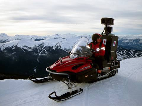 Google Street View Comes To The Ski Slopes