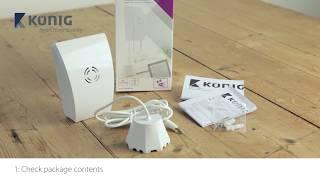 Konig SAS-CLALWL10 – Smart Water Leak Sensor 868 Mhz – ENG