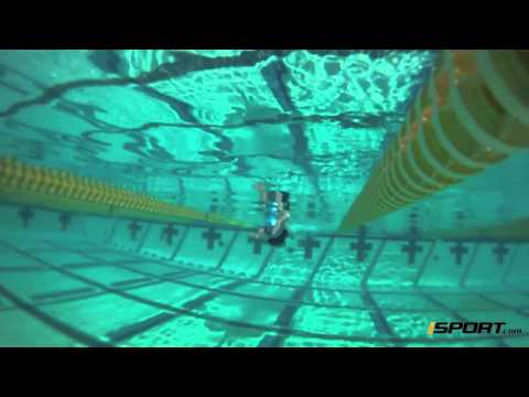 One side only swimming (assists with mechanics of underwater pull movement) (Drill 6)
