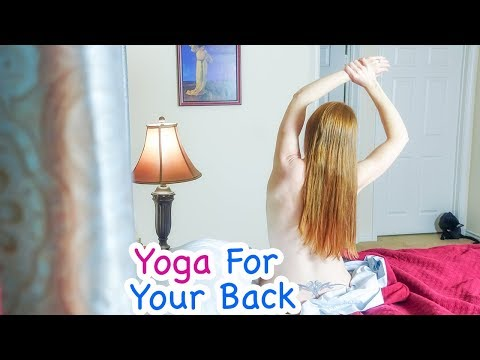 My Healthy Morning Yoga Routine ♥ For Your Back - Ruby Day