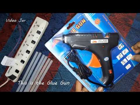 Hot Melt Glue Gun Unboxing And Full Review 2018