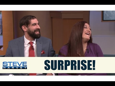 Surprise military reunion they didn't see coming || STEVE HARVEY