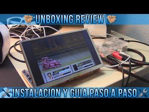 UNBOXING REVIEW PANTALLA 7 PULGADAS PARA RASPBERRY PI 3 B - INSTALACIÓN Y GUÍA PASO A PASO