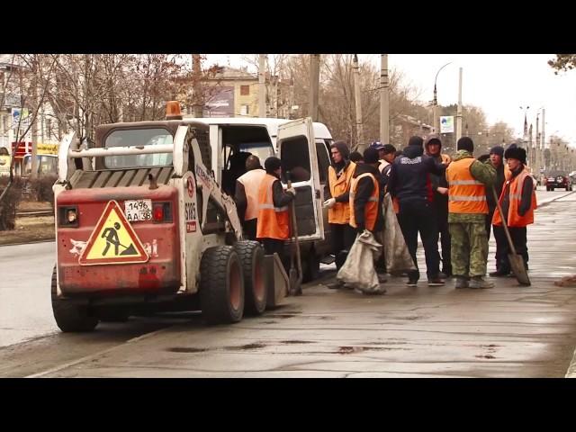 Город завалило мусором