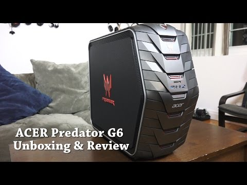 Acer Predator G6 Gaming Desktop Unboxing & Review