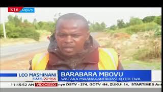 Wakaazi wa Kathiani wagathabishwa na mkandarasi anayedaiwa kufanya kazi kwa mwendo wa kobe