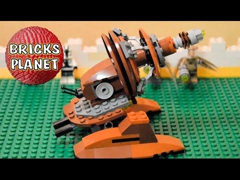 Vidéo LEGO Star Wars 9491 : Le canon Géonosien