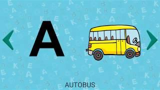 Let's Play • Alfabet dla dzieci • po Polsku, Nauka liter, wymowa, abc, Gry edukacyjne dla dzieci